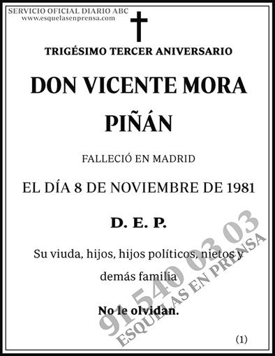 Vicente Mora Piñan
